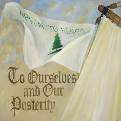7. To Ourselves and Our Posterity – Preamble Flag Series Art Print