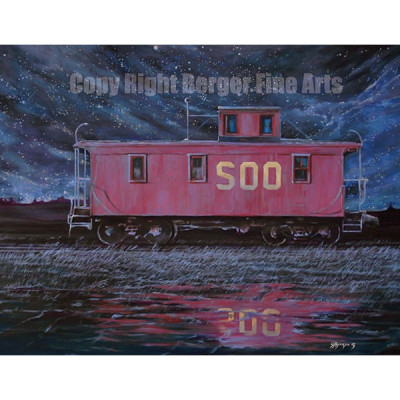Caboose Under The Stars