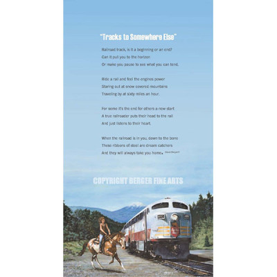 Racing The Canadian Pacific with Poem