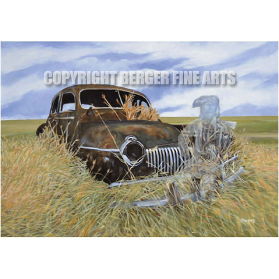 6th – Ghosts of the Prairie Series Art Print