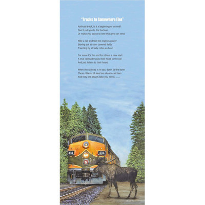 Great Northern Encounter with Poem
