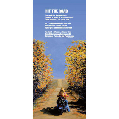 Hit The Road with Poem