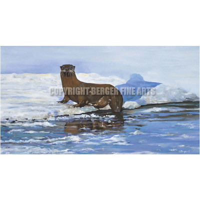 """Ice Out Otter  – """"Gunflint"""" series"""
