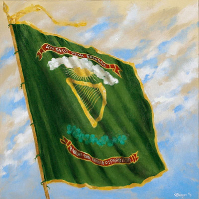 Irish Regiment Flag