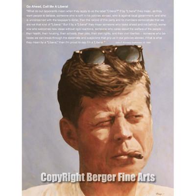 JFK with Speech