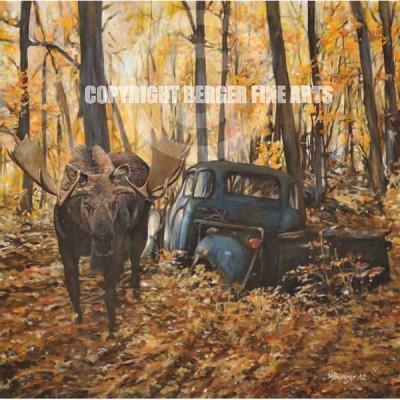 "Moose on the Gunflint – ""Gunflint"" series"