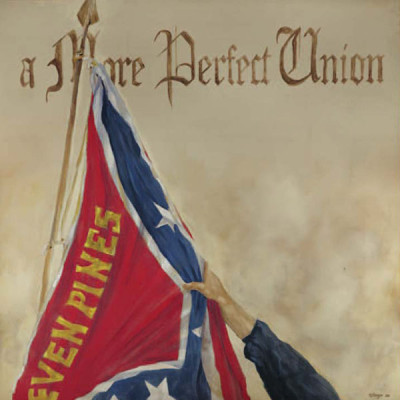2. A More Perfect Union – Preamble Flag Series Art Print