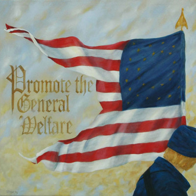 5. Promote the General Welfare – Preamble Flag Series Art Print