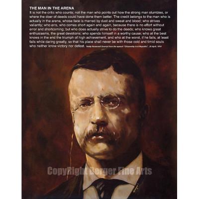 Teddy Roosevelt with Speech