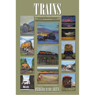 Legendary Train Poster