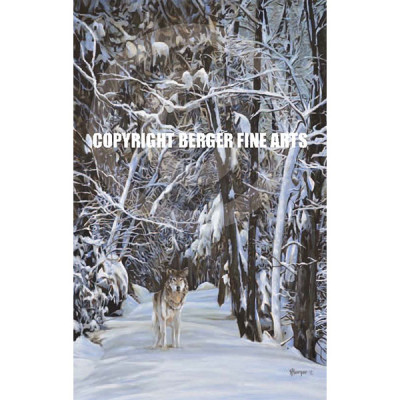 "Wolf On The Gunflint – ""Gunflint"" series"