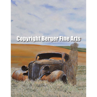 1st – Ghosts of the Prairie Series – On the Plains Art Prints