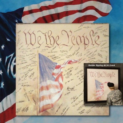 Remembering Those Who Serve With Art