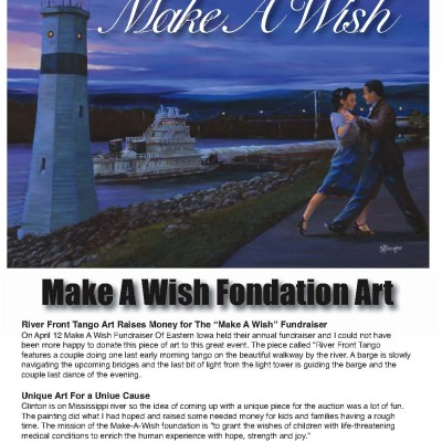 """Make A Wish"" Art"