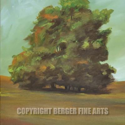 Tree Grove On The Plain