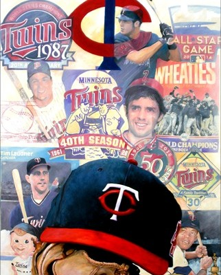 Minnesota Twins Forever Collage