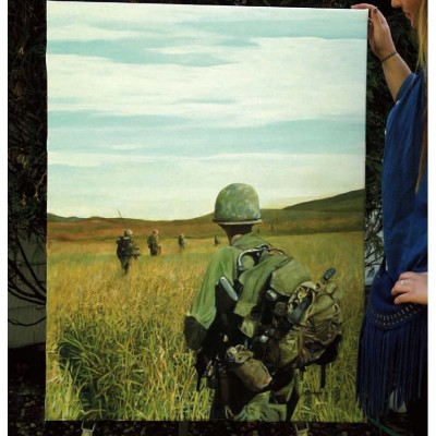 "The ""Green Line "" On Patrol in Vietnam"