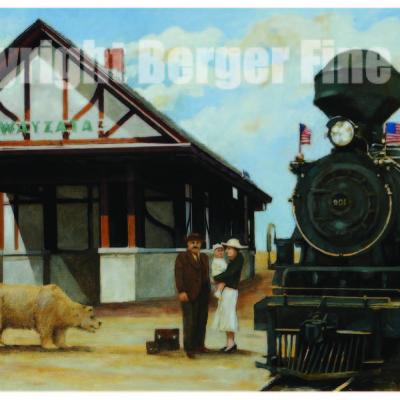 Wayzata Minnesota Depot 1874